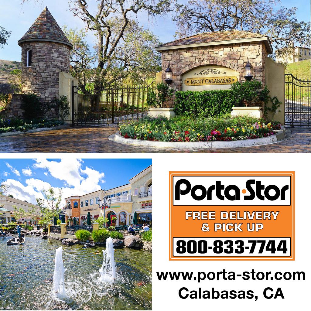 Porta-Stor Location Collage - Calabasas