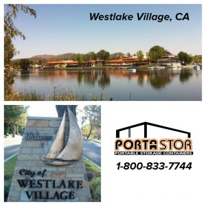 Rent portable storage units in Westlake CA