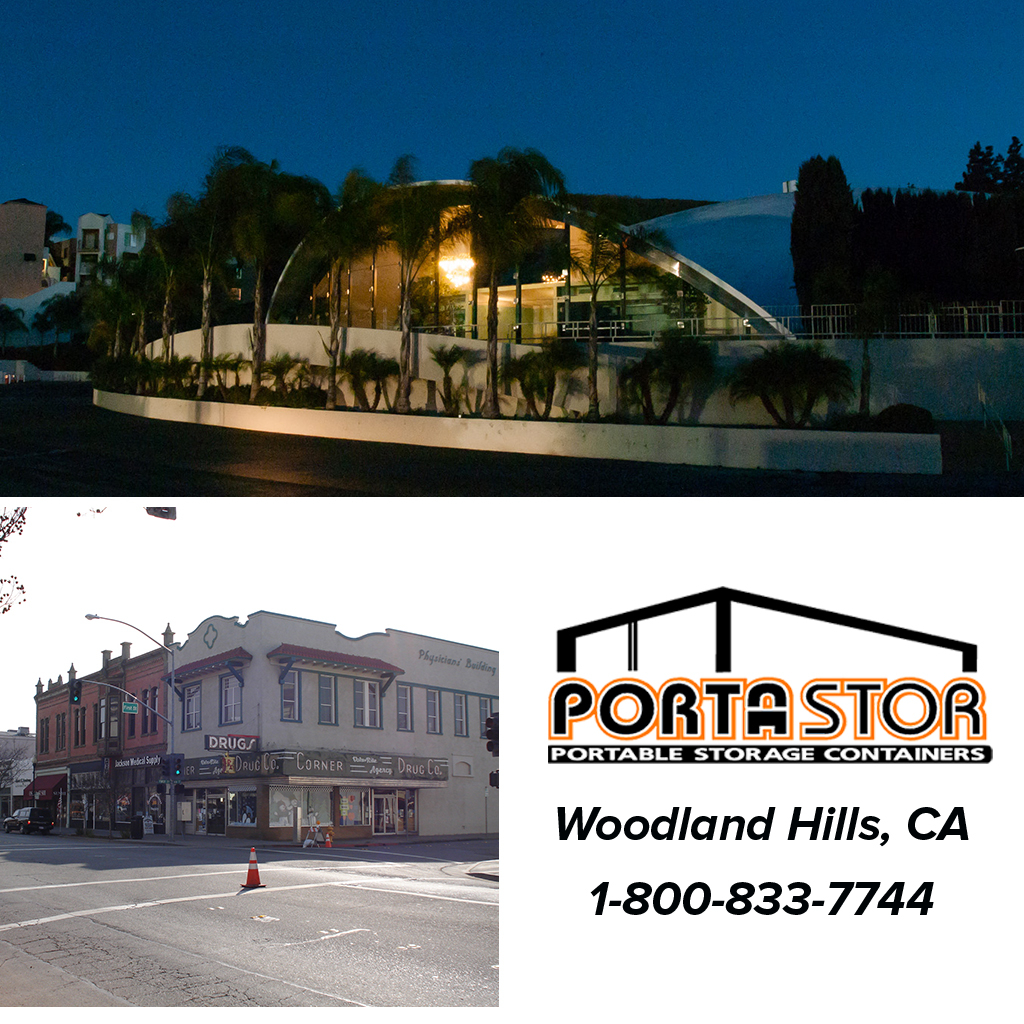 Rent portable storage containers in Woodland Hills, CA