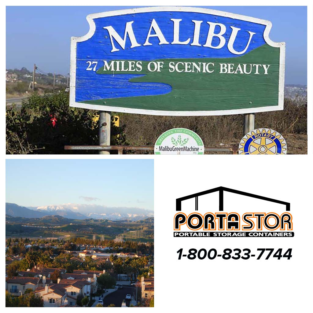 Rent portable storage units in Malibu CA