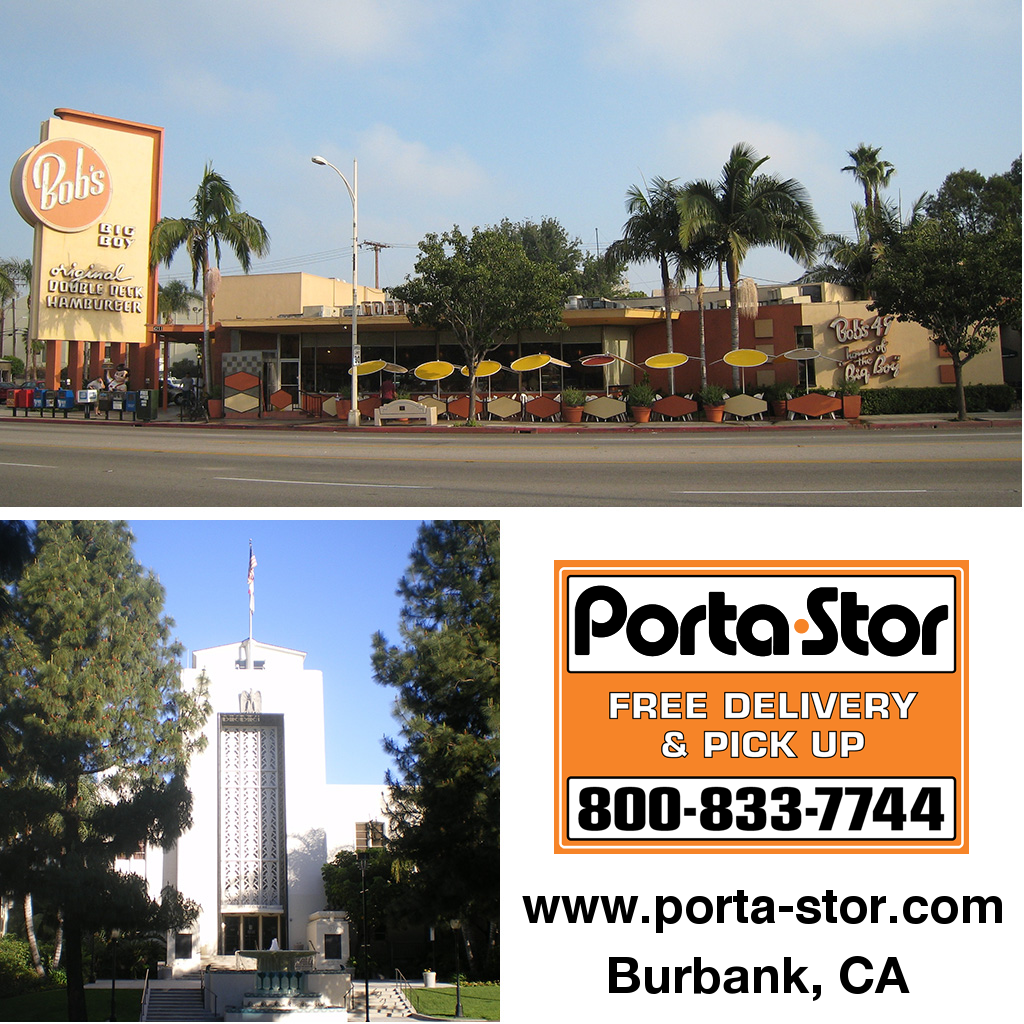 Porta-Stor Location Collage - Burbank