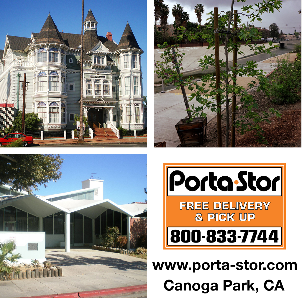 Porta-Stor Location Collage - Canoga Park