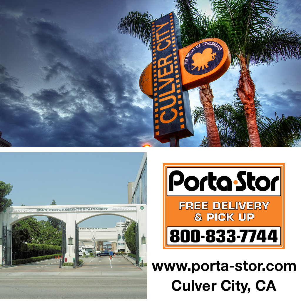 Porta-Stor Location Collage - Culver City