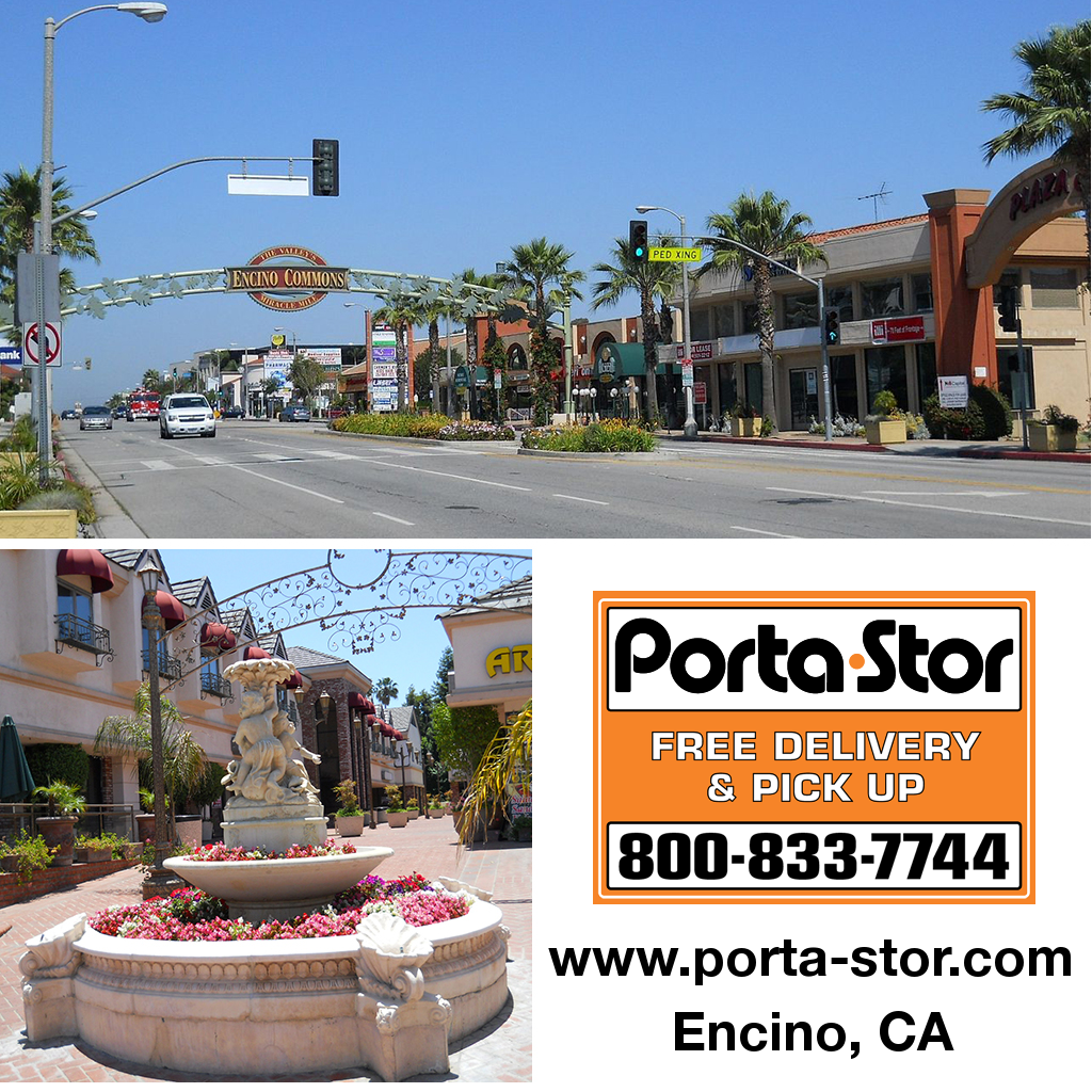 Marvelous Porta Stor Location Collage   Encino