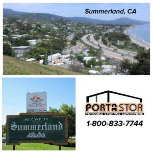 Rent storage units in Summerland CA