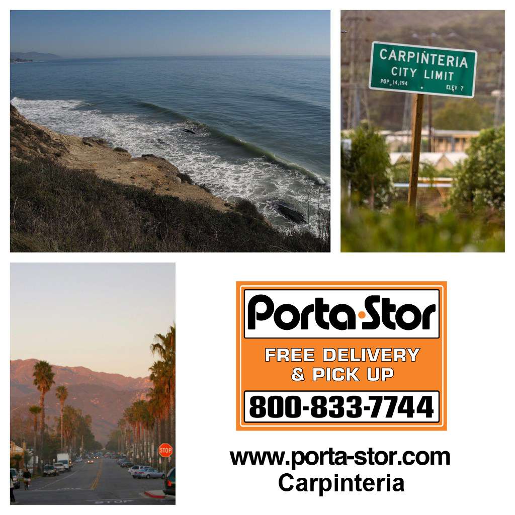 rent portable storage containers in carpinteria