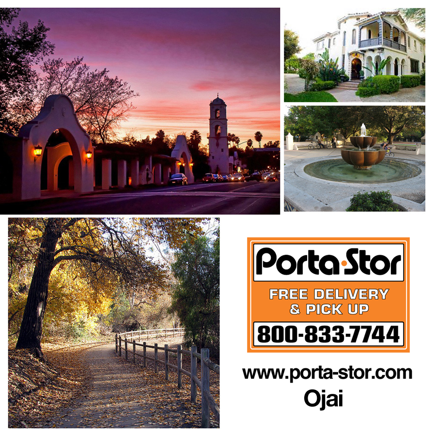 Rent Portable Storage Containers in Ojai