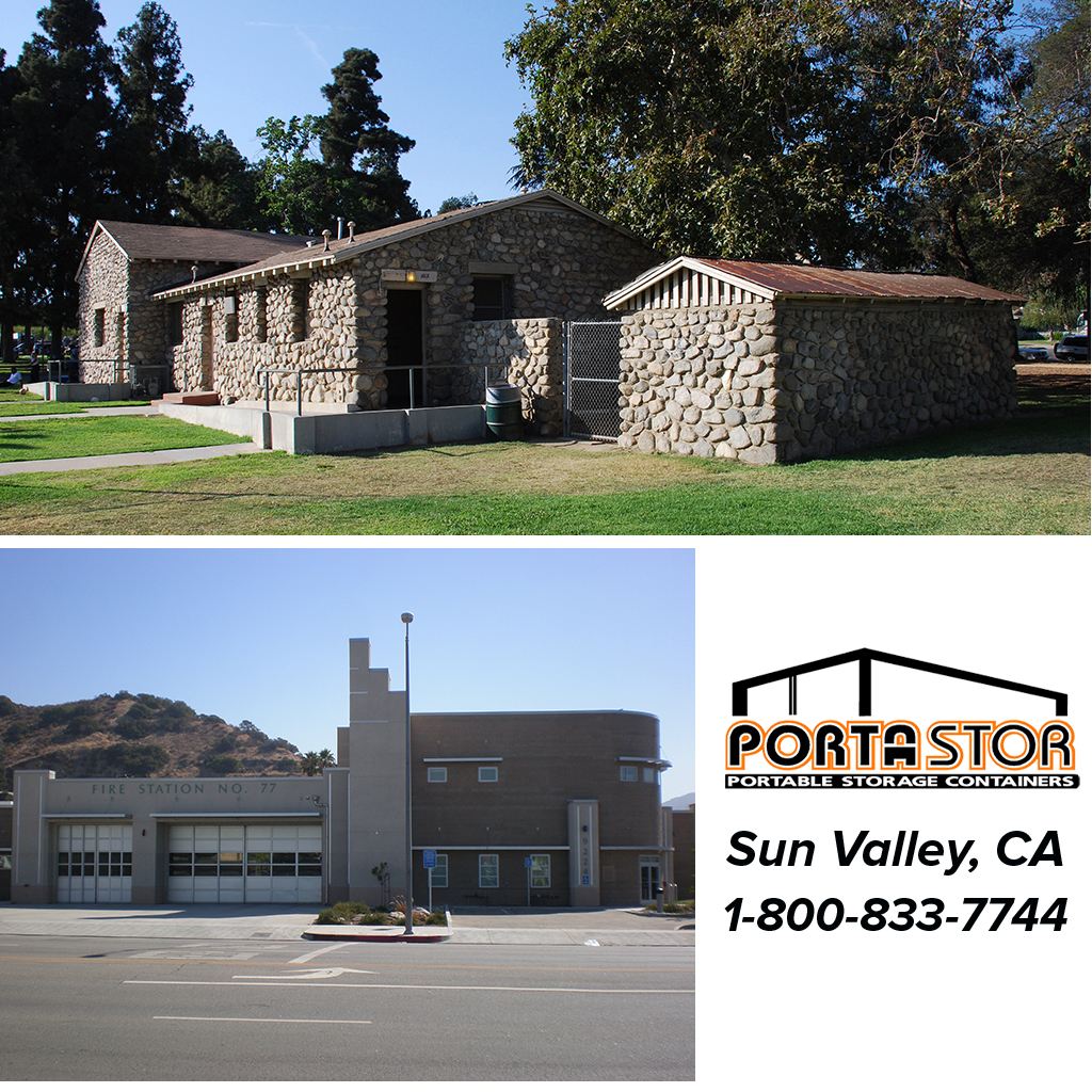 Rent Portable Storage Containers in Sun Valley, CA