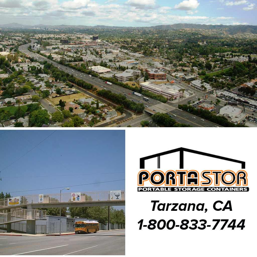 Rent portable storage containers in Tarzana, CA
