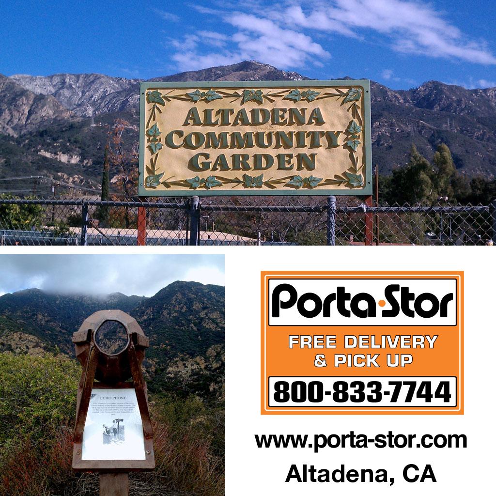 Porta-Stor Location Collage - Altadena