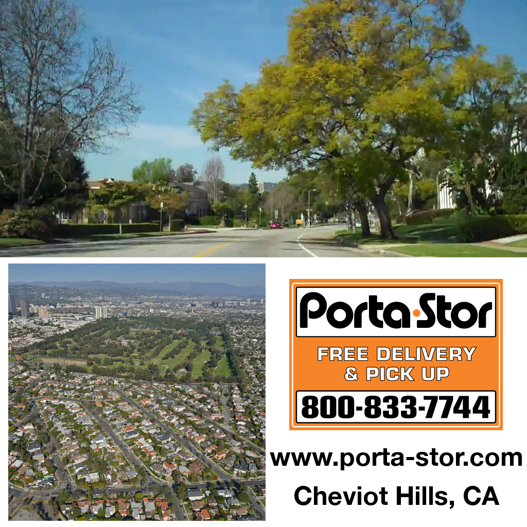 Porta-Stor Location Collage - Cheviot Hills
