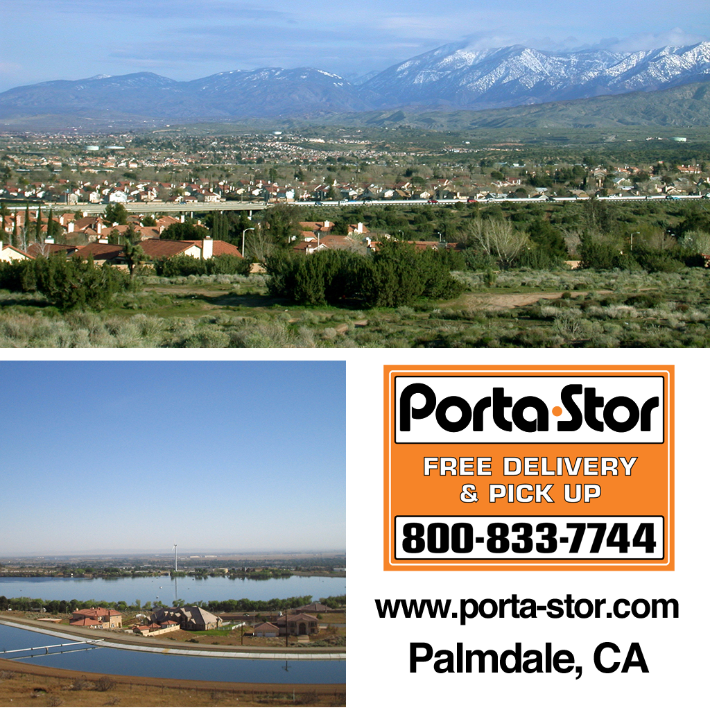 Rent Portable Storage Containers in Palmdale