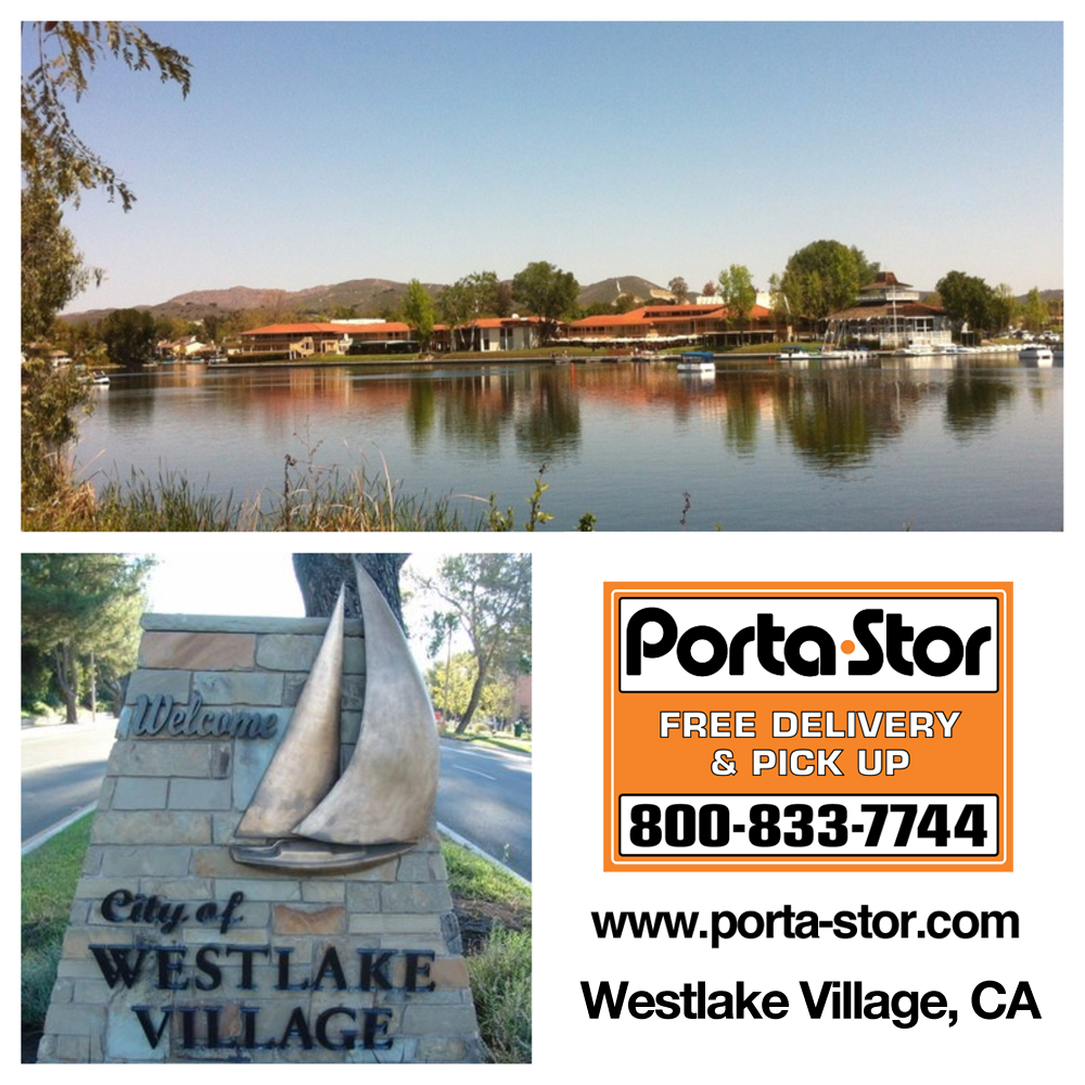 Portable Storage Containers in Westlake Village