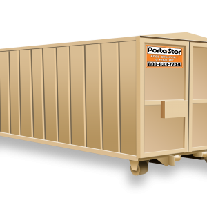 Porta-Stor Storage Roll-Off Container